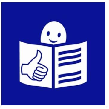 Logo tekstu łatwego do czytania i rozumienia ETR